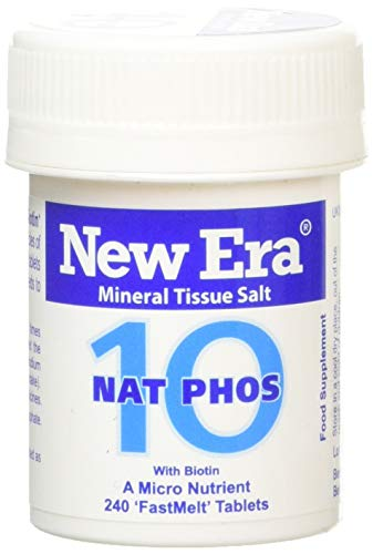 New Era Number 10 Nat. Phos. Tablets - Pack of 240 from New Era