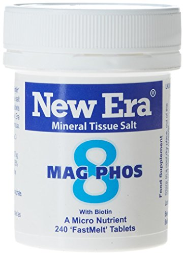 New Era Number 8 Mag. Phos. Tablets - Pack of 240 from New Era
