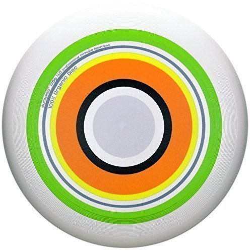 Eurodisc Ultimate Frisbee competition disc SPRING, flies straight & stable over 100 meter from New Games - Frisbeesport