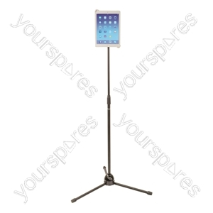 NJS Black Tablet Tripod Stand 1.8m from NJS