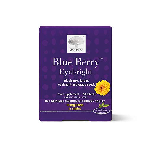 New Nordic Blue Berry - Pack of 60 Tablets from New Nordic Ltd