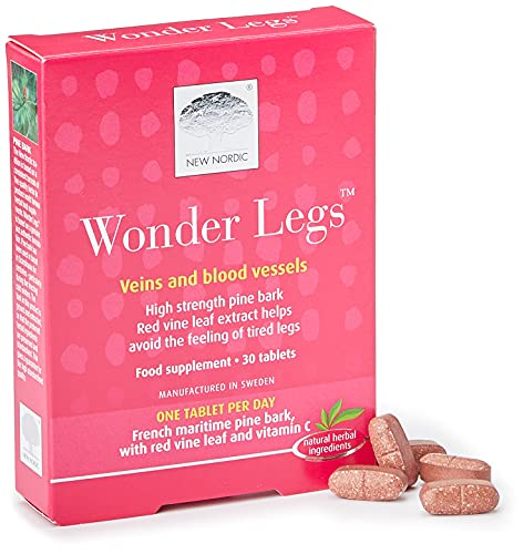 New Nordic Wonder Legs Natural Supplement (30 Tablets) from New Nordic