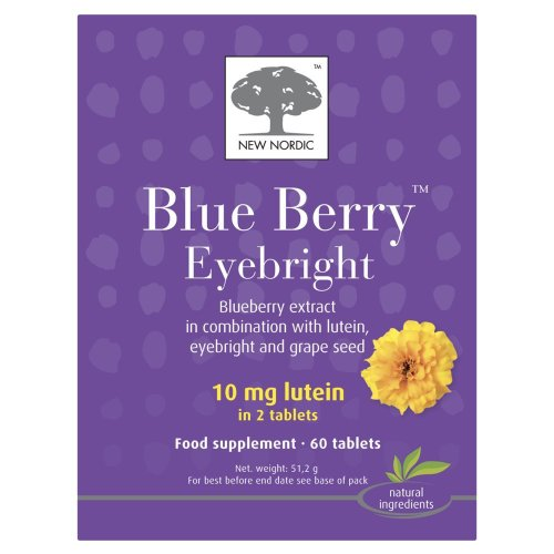 (2 Pack) - New Nordic - Blueberry Eyebright | 60's | 2 PACK BUNDLE from NEW NORDIC