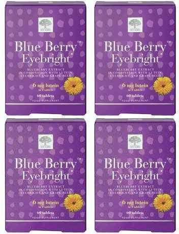 (4 PACK) - New Nordic - Blueberry Eyebright | 60's | 4 PACK BUNDLE from New Nordic