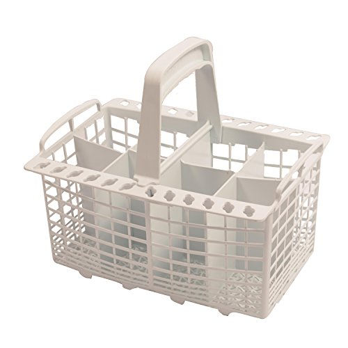 New World Universal 8-Compartment Cutlery Basket for New World Dishwasher, White from New World