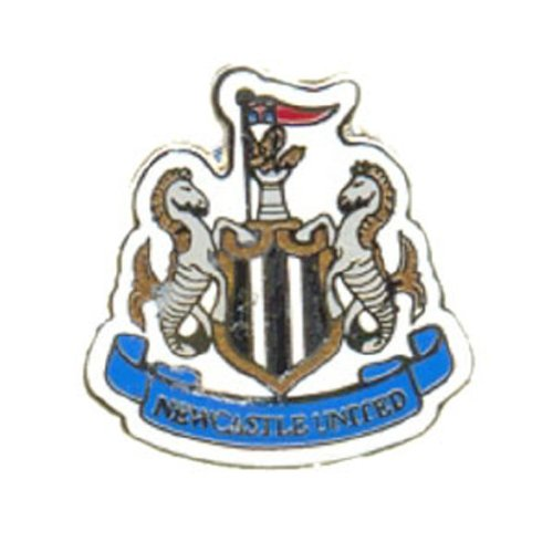 Newcastle United FC Official Metal Crest Pin Badge from Newcastle United F.C.