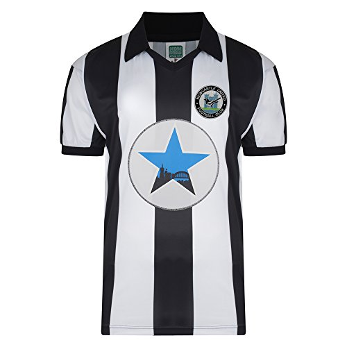 Official Retro Newcastle United 1982 Polyester Retro Shirt 100% POLYESTER from Newcastle United F.C.