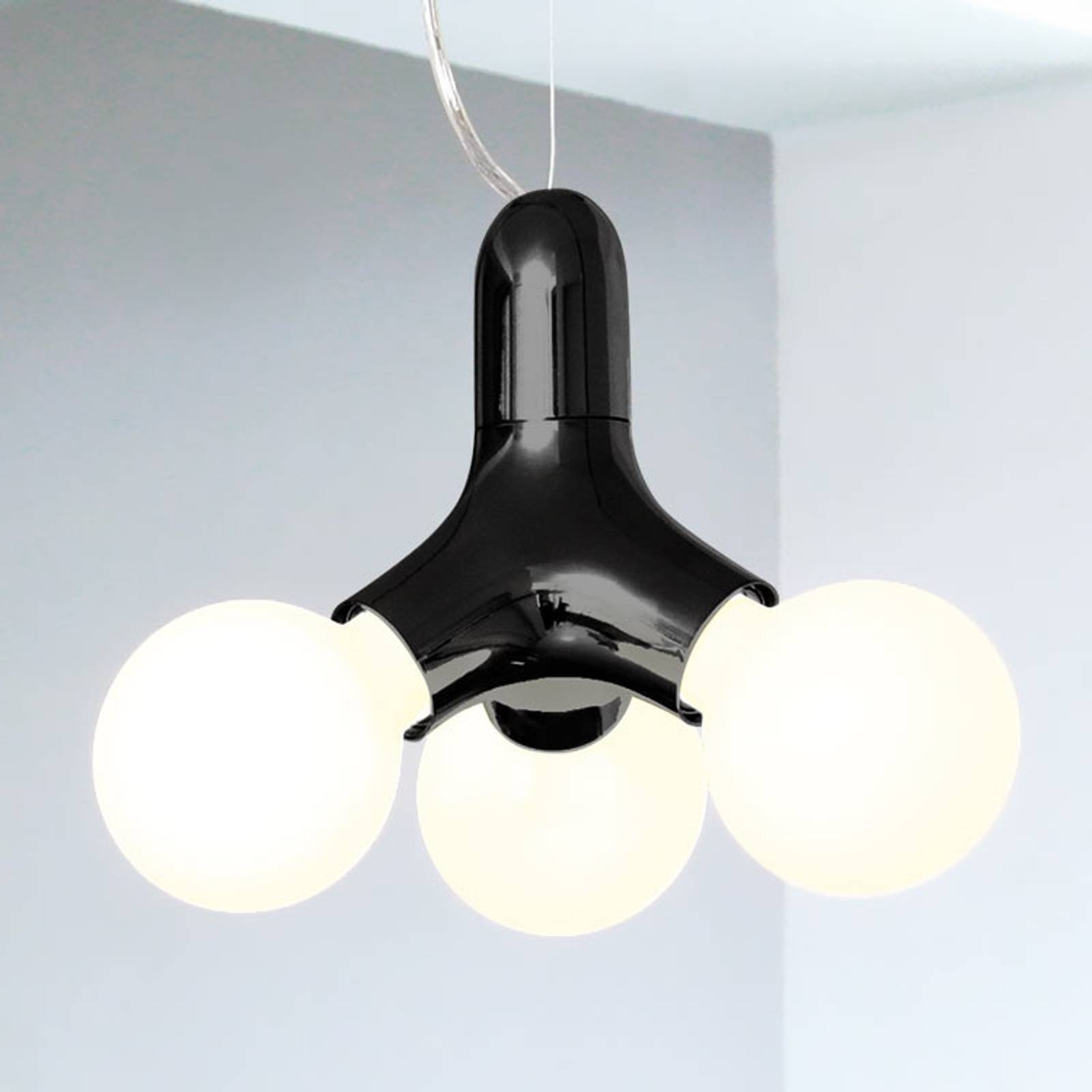 next DNA Single - hanging light in black from Next