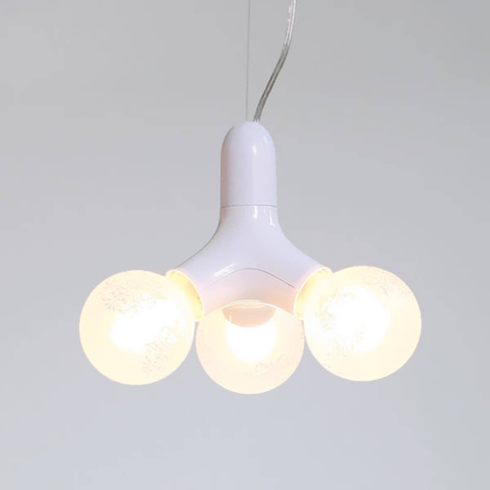 next DNA Single - hanging light in white from Next