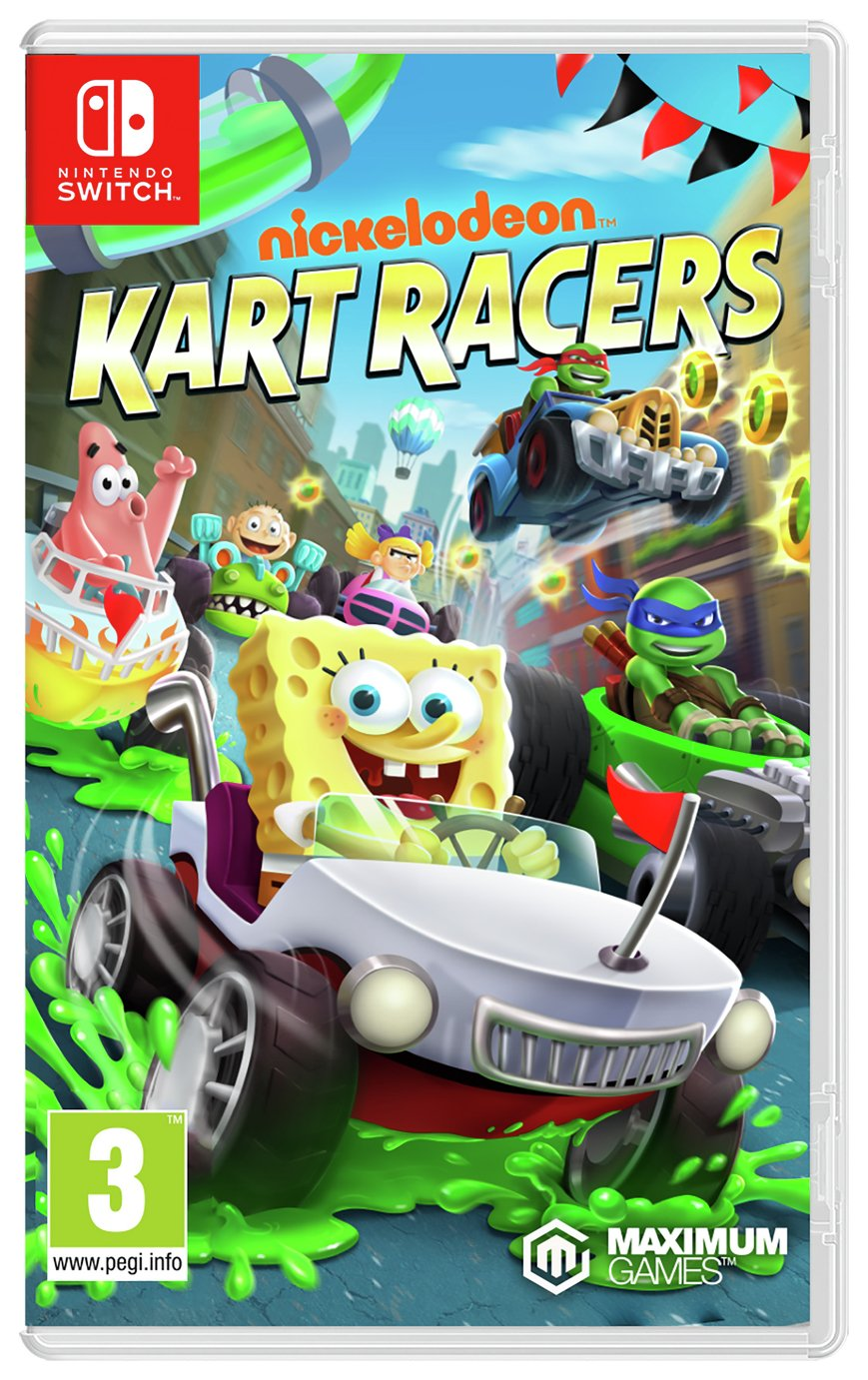 Nickelodeon Kart Racers Nintendo Switch Game from Nickelodeon