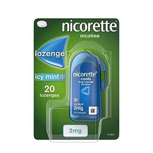 Nicorette 2 mg Cools Lozenge - Pack of 20 Lozenges from Nicorette