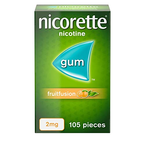 Nicorette Fruitfusion Gum 2 mg, 105 Pieces from Nicorette