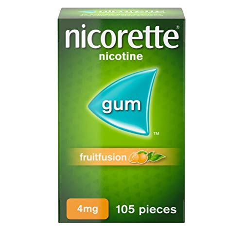 Nicorette Fruitfusion Gum 4 mg, 105 Pieces from Nicorette
