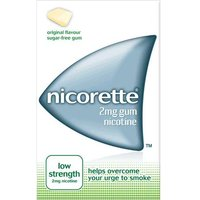 Nicorette Gum 2mg Original low Strength (105) from Nicorette