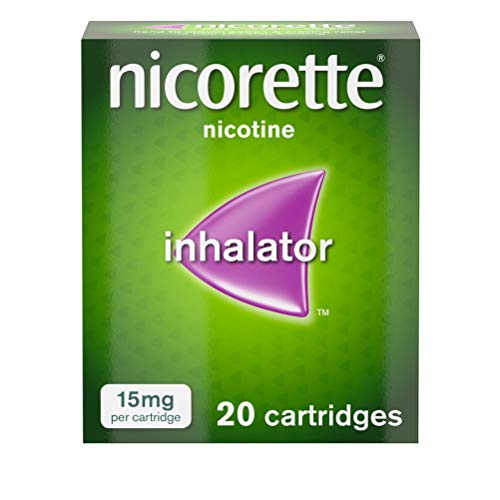 Nicorette Inhalator, 15 mg, 20 Cartridges (Stop Smoking Aid) from Nicorette