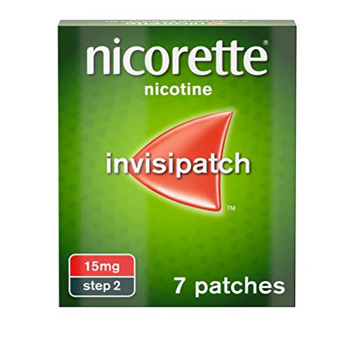 Nicorette InvisiPatch 15 mg, 7 Patches from Nicorette