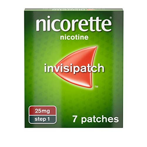 Nicorette Step 1 25mg Invisi Patch (Pack of 7) from Nicorette
