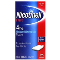 Nicotinell Fruit Chewing Gum 96 pieces 4mg from Nicotinell