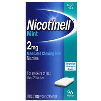 Nicotinell MINT Chewing Gum 2mg (96 pieces) from Nicotinell