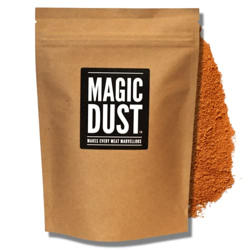 "Magic Dust® - All Purpose Seasoning & BBQ Rub - ""Makes Every Meat Marvellous"" - Large Pack (225g) from Nifty Kitchen"