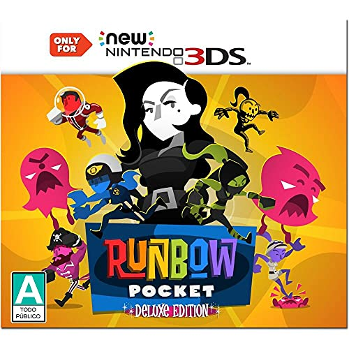 Runbow Pocket Deluxe Edition - Nintendo 3DS from Nighthawk Interactive