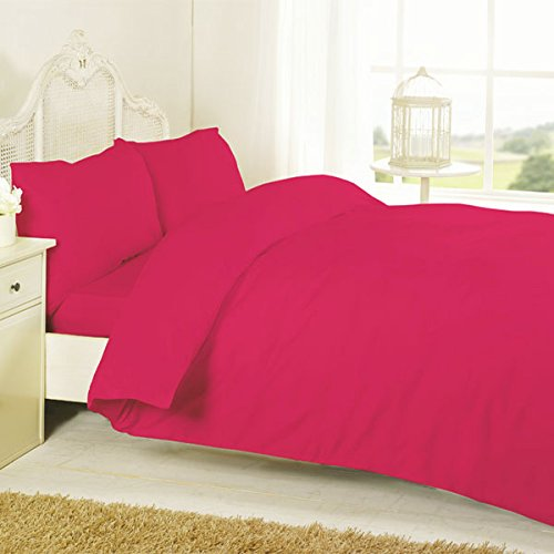 Night Zone 100% Egyptian Cotton 200 Thread Count Flat Sheet, Red, Super King from Night Zone