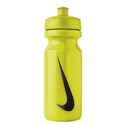 Nike Unisex's Big Mouth Water Bottle, Atomic Green/Black, 650 ml from Nike