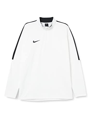 Nike Men Dry Academy 18 Drill Long Sleeve Top - White Black Black b27c1a6acf8