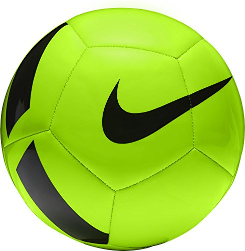 Nike NK Pitch TEAM Ball, Unisex, Green (Electric Green/Black), 5 from Nike