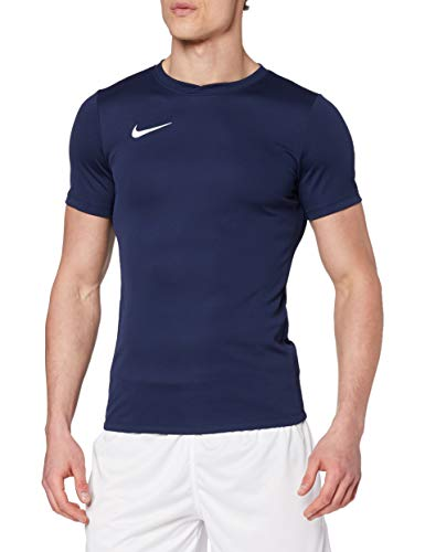 Nike Men's Park VI T-Shirt - Midnight Navy/White, Small from Nike