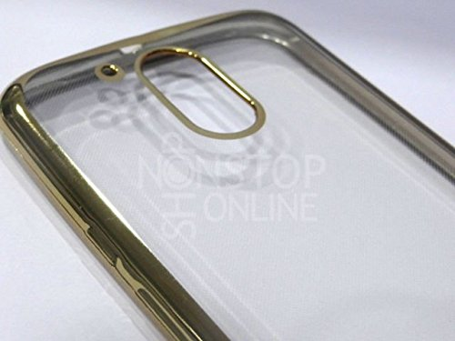 Nillkin Sparkle Leather Cover Case for LG Tribute 5 - Golden from Nillkin