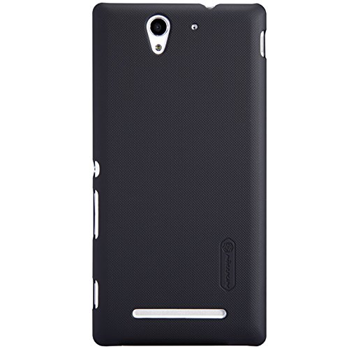 Nillkin Super Frosted Shield Case for Xperia C3 - Black (Retail Packaging) from Nillkin