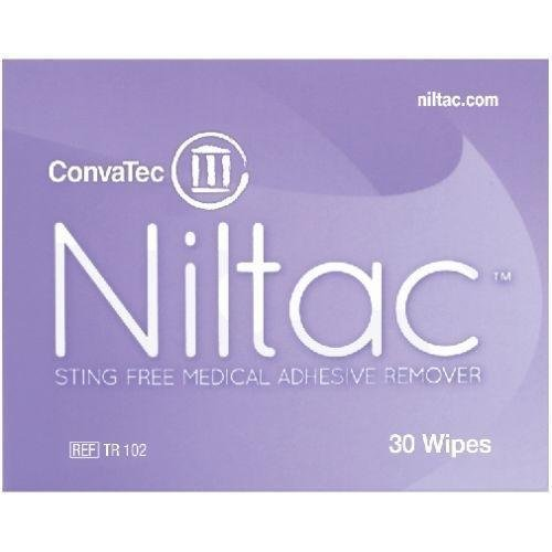 Niltac Sting Free Adhesive Remover Wipes x 30 from Niltac