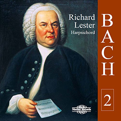 Bach: Works for Harpsichord, Vol. 2 from Nimbus