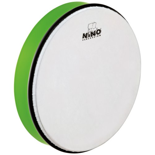 Meinl NINO6GG 12 inch ABS Hand Drum - Grass Green from Nino Percussion