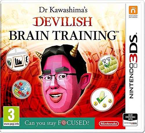 Dr Kawashima's Devilish Brain Training: Can you stay focused? (Nintendo 3DS) from Nintendo