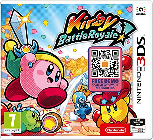Nintendo 3DS Kirby Battle Royale from Nintendo