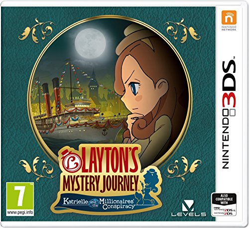 Layton's Mystery Journey: Katrielle and the Millionaires' Conspiracy (Nintendo 3DS) from Nintendo