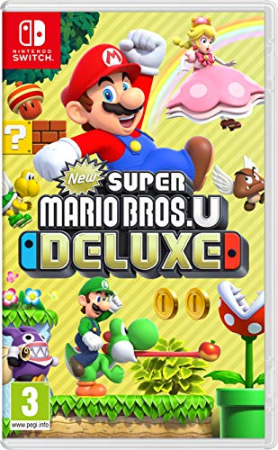 New Super Mario Bros. U Deluxe (Nintendo Switch) from Nintendo