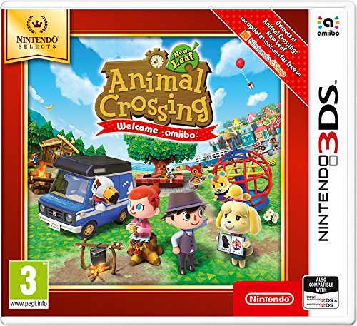 Nintendo Selects - Animal Crossing New Leaf: Welcome amiibo (Nintendo 3DS) from Nintendo