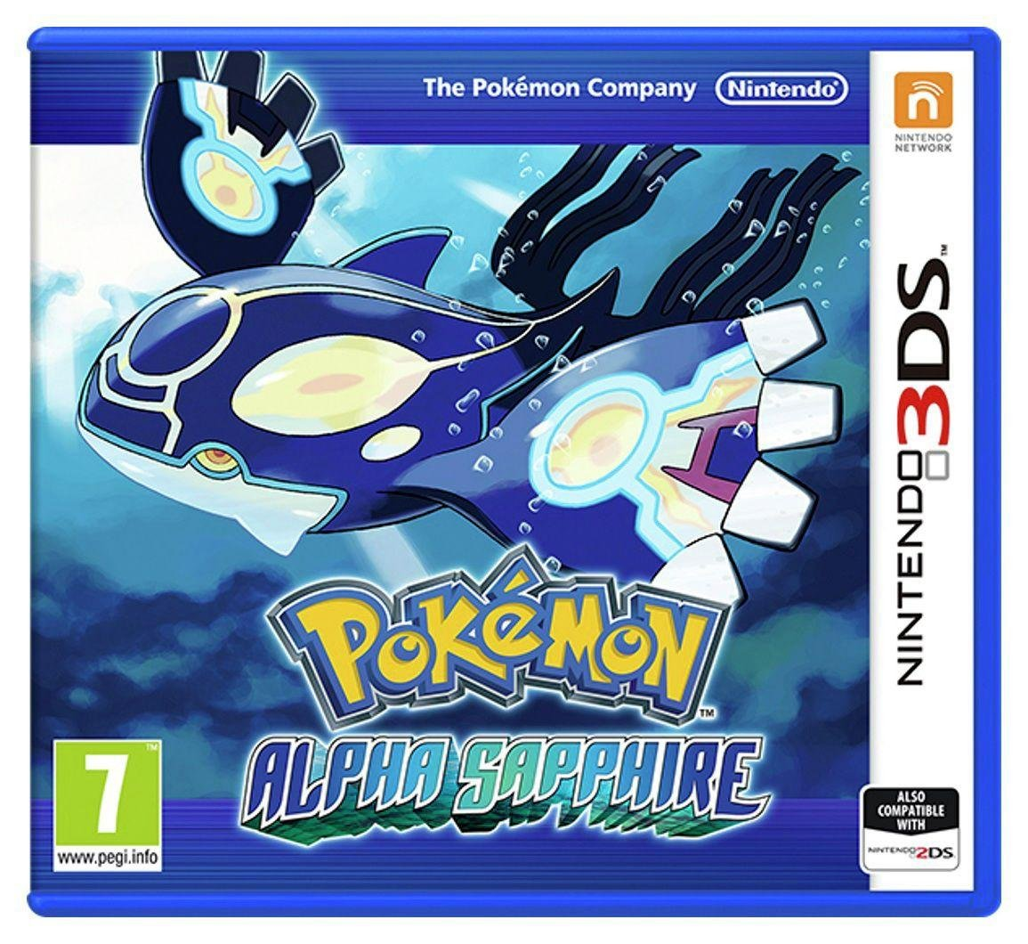 Pokemon - Alpha Sapphire - 3DS Game from Nintendo