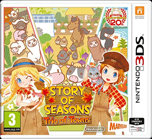 Story of Seasons 2: Trio of Towns (Nintendo 3DS) from Nintendo