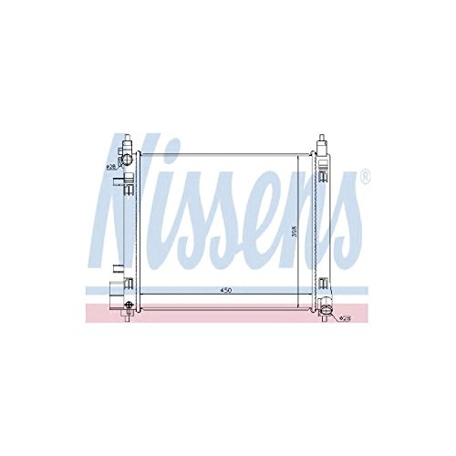 Nissens 68720 Radiator, engine cooling from Nissens
