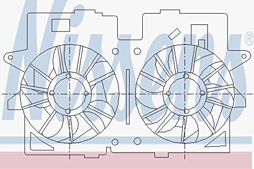Nissens 85277 Fan, radiator from Nissens