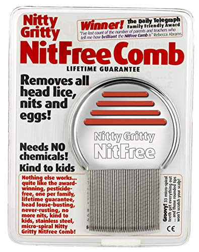 Nitty Gritty Nit Comb(Assorted Colors) from Nitty