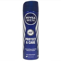 Nivea Men 48hr Protect and Care Anti-perspirant deodorant 150ml from Nivea Men