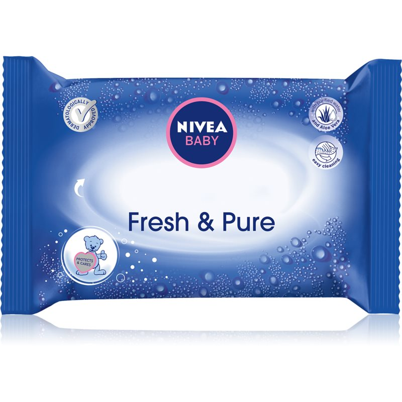 Nivea Baby Fresh & Pure Cleansing Wipes for Kids 63 pc from Nivea