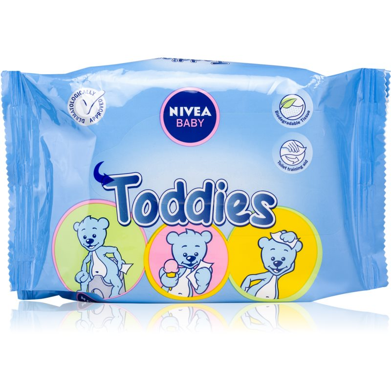 Nivea Baby Toddies Cleansing Wipes for Kids 60 pc from Nivea