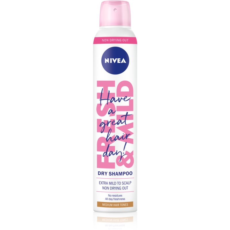 Nivea Fresh Revive Refreshing Dry Shampoo with Volume Effect Medium Tones 200 ml from Nivea
