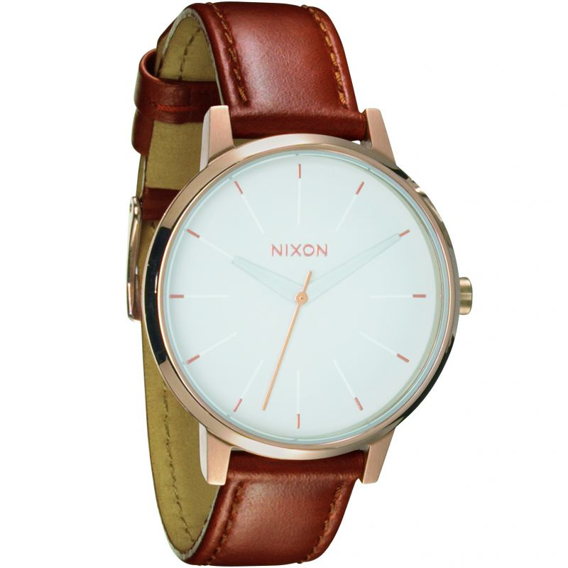 Ladies Nixon The Kensington Leather Watch from Nixon
